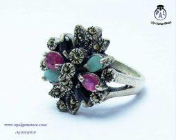خریدانگشتر زنانهچند جواهر با قیمت مناسب