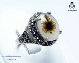 فروش انگشتر عقیق شجر با قیمت مناسب