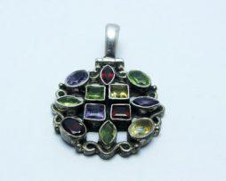 خرید آویز زنانه چند جواهر با قیمت مناسب