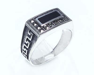 انگشتر نقره مردانه اسپرت کد ۱۵۲۸