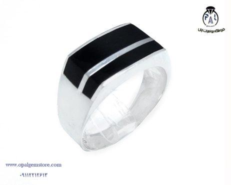فروش انگشتر نقره مردانه اسپرت با قیمت مناسب