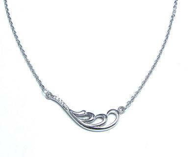 گردنبند نقره زنانه طرح اسپرت کد ۱۵۶۳