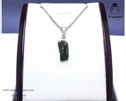 فروش آویز گردنبند اسپرت تورمالین سیاه با قیمت مناسب