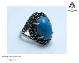 خریدانگشتر نقره فیروزه زنانه با قیمت مناسب