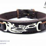 فروش دستبند چرم و نقره با قیمت مناسب
