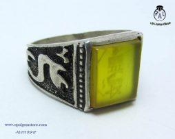 فروش انگشتر نقره شرف الشمس مردانه با قیمت مناسب