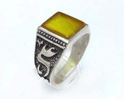 خرید انگشتر نقره شرف الشمس مردانه با قیمت مناسب