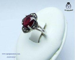 خریدانگشتر زنانه یاقوت سرخ با قیمت مناسب