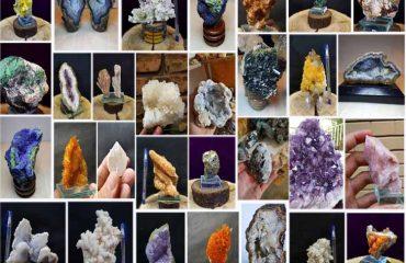 سنگ های ویترینی (دکوری)