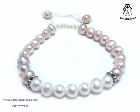 خرید دستبند مروارید سفید و رنگی با قیمت مناسب