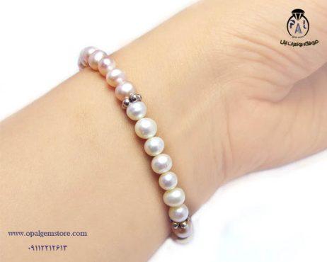 فروش دستبند مروارید پرورشی با قیمت مناسب