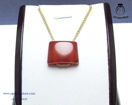 فروش گردنبند آویز اسپرت عقیق با زنجیر نقره قیمت مناسب