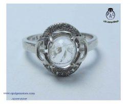 قیمت انگشتر نقره زنانه در نجف