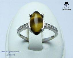 فروش انگشتر زنانه چشم ببر با قیمت مناسب