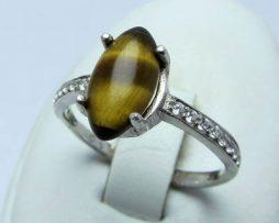 خرید انگشتر زنانه چشم ببر با قیمت مناسب