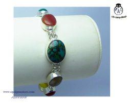 فروش دستبند سنگ های رنگی با قیمت مناسب