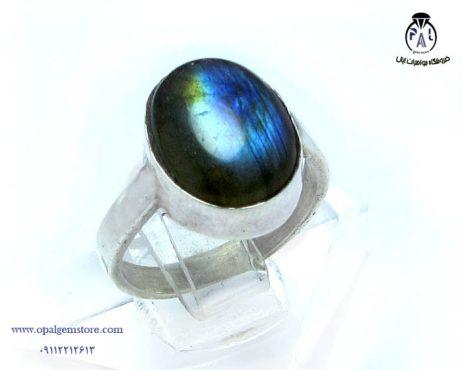فروش انگشتر نقره لابرادوریت با قیمت مناسب