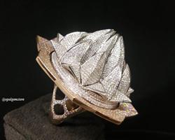 رکورد گینس انگشتر طلا با بیشترین نگین الماس