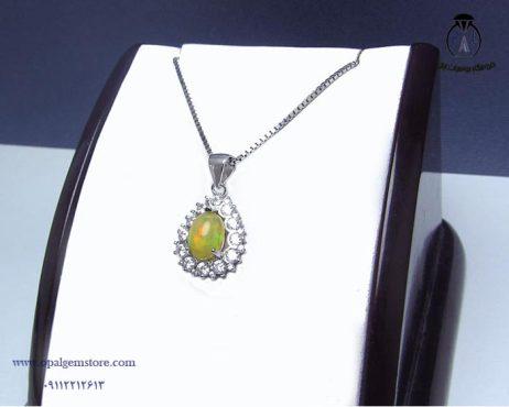 خرید آویز نقره زنانه اپال با قیمت مناسب