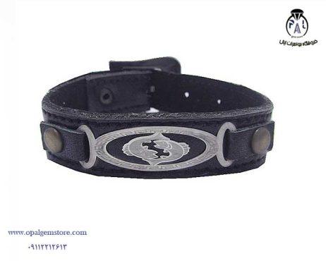 خرید دستبند چرم نقره با قیمت مناسب