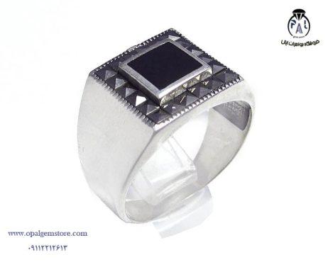 خرید انگشتر نقره اسپرت مردانه با قیمت مناسب