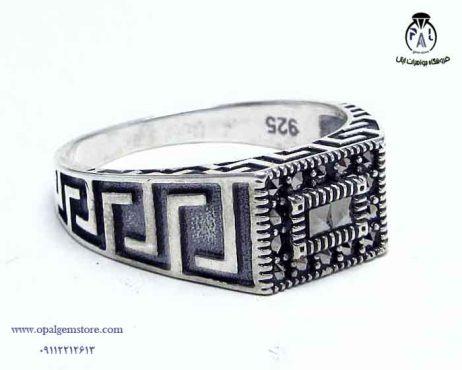 خرید انگشتر نقرهاسپرت مردانه با قیمت مناسب